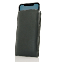 Leather Vertical Pouch Case for Apple iPhone 11