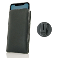 Leather Vertical Pouch Belt Clip Case for Apple iPhone 11