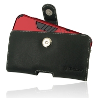 Leather Horizontal Pouch Case with Belt Clip for Apple iPhone 11 Pro (in Large Size Armor Protective Case Cover)