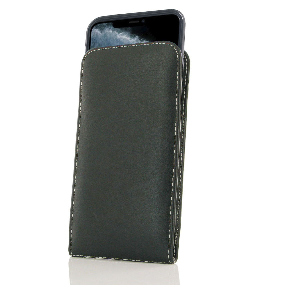 10% OFF + FREE SHIPPING, Buy the BEST PDair Handcrafted Premium Protective Carrying iPhone 11 Pro (in Slim Cover) Pouch Case. Exquisitely designed engineered for iPhone 11 Pro.