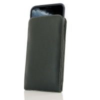 Leather Vertical Pouch Case for Apple iPhone 11 Pro ( Compatible with 1.0 mm Slim Case / Cover on )