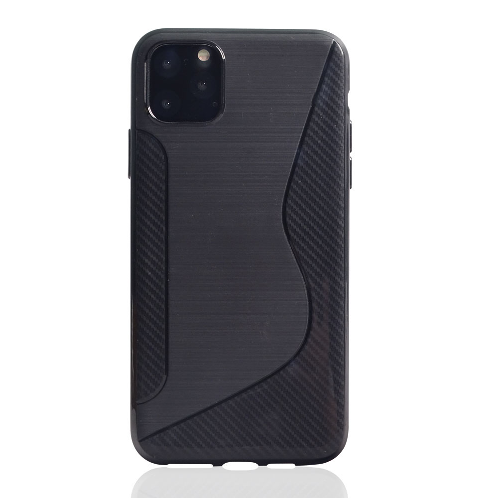 10% OFF + FREE SHIPPING, Buy the BEST PDair Premium Protective Carrying Apple iPhone 11 Pro Max  Soft Case (Black S Shape pattern). Exquisitely designed engineered for Apple iPhone 11 Pro Max .