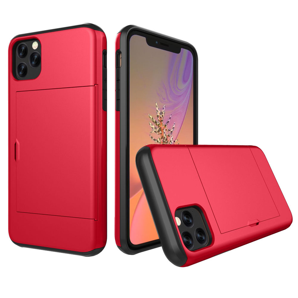 10% OFF + FREE SHIPPING, Buy the BEST PDair Premium Protective Carrying Apple iPhone 11 Pro Max  Armor Protective Case with Card Slot (Red). Exquisitely designed engineered for Apple iPhone 11 Pro Max .