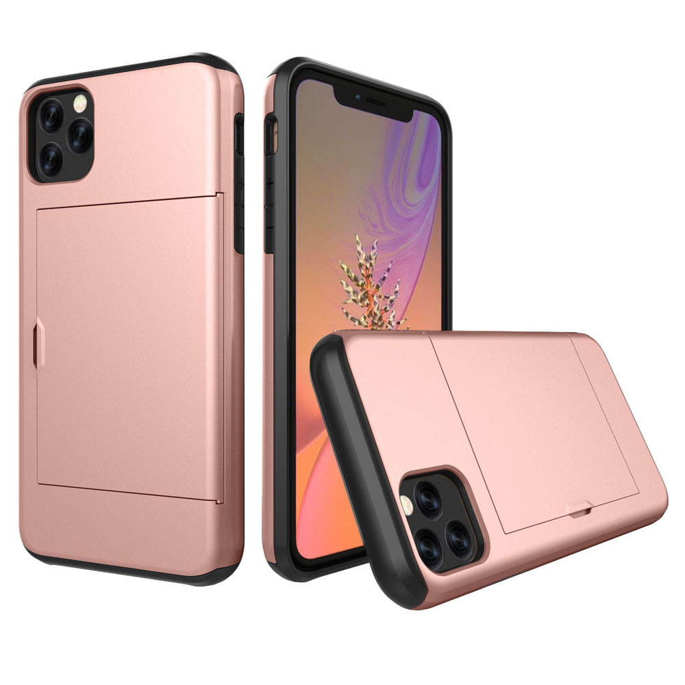 10% OFF + FREE SHIPPING, Buy the BEST PDair Premium Protective Carrying Apple iPhone 11 Pro Max  Armor Protective Case with Card Slot (Rose Gold). Exquisitely designed engineered for Apple iPhone 11 Pro Max .