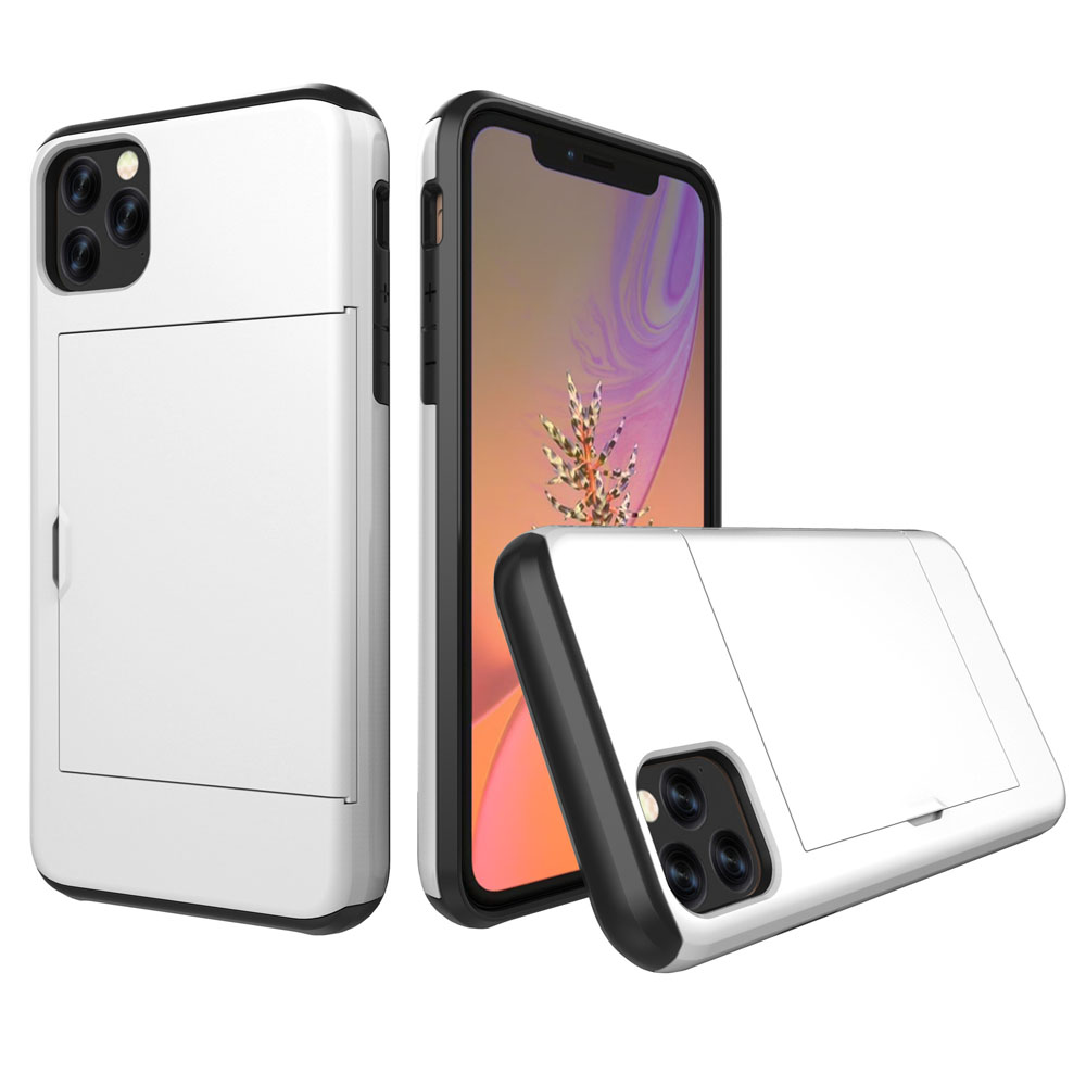 10% OFF + FREE SHIPPING, Buy the BEST PDair Premium Protective Carrying Apple iPhone 11 Pro Max  Armor Protective Case with Card Slot (Silver). Exquisitely designed engineered for Apple iPhone 11 Pro Max .