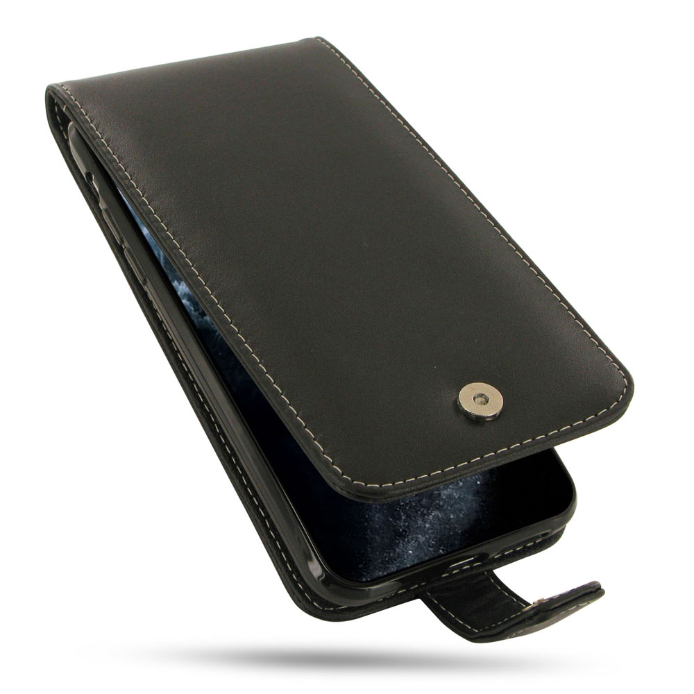iPhone 11 Pro Max Leather Wallet Flip Case is custom designed to fit your needs either in functionality or quality, using PDair classic and traditional conception of design philosophy. Multiple openings give you the freedom of using the basic functions of