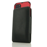 Leather Vertical Pouch Case for Apple iPhone 11 Pro (in Large Size Armor Protective Case Cover)