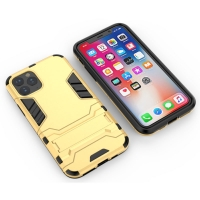Apple iPhone 11 Pro Tough Armor Protective Case (Gold)