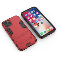 Apple iPhone 11 Pro Tough Armor Protective Case (Red)