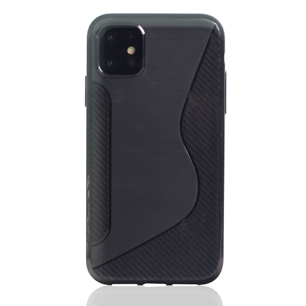 10% OFF + FREE SHIPPING, Buy the BEST PDair Premium Protective Carrying Apple iPhone 11 Soft Case (Black S Shape pattern). Exquisitely designed engineered for Apple iPhone 11.