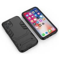 Apple iPhone 11 Tough Armor Protective Case (Black)