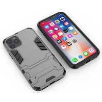 Apple iPhone 11 Tough Armor Protective Case (Grey)