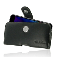 Leather Horizontal Pouch Case with Belt Clip for Apple iPhone 8