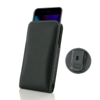 Leather Vertical Pouch Belt Clip Case for Apple iPhone 8