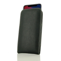 Leather Vertical Pouch Case for Apple iPhone X | iPhone 10