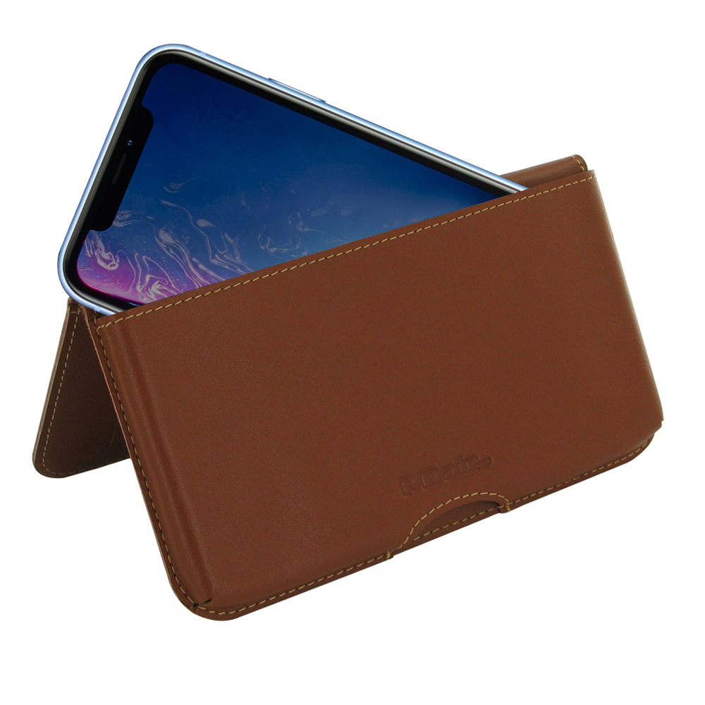 10% OFF + FREE SHIPPING, Buy the BEST PDair Handcrafted Premium Protective Carrying iPhone XR Leather Wallet Pouch Case (Brown). Exquisitely designed engineered for iPhone XR.