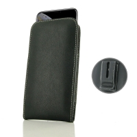 Leather Vertical Pouch Belt Clip Case for Apple iPhone XS Max