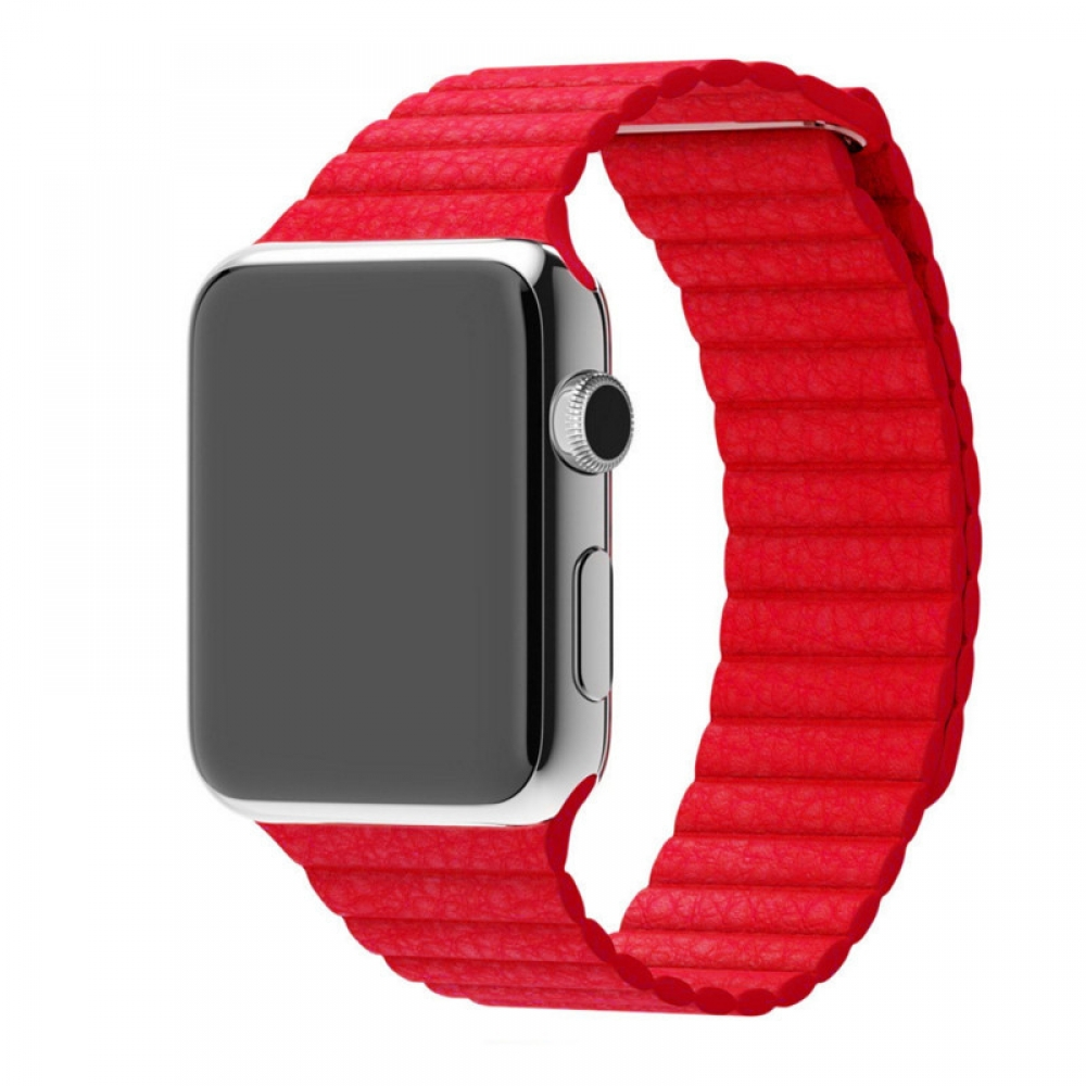 10% OFF + FREE SHIPPING, Buy Best PDair Top Quality Apple Watch 38mm Leather Loop Band Strap (Red) online. Pouch Sleeve Holster Wallet You also can go to the customizer to create your own stylish leather case if looking for additional colors, patterns and