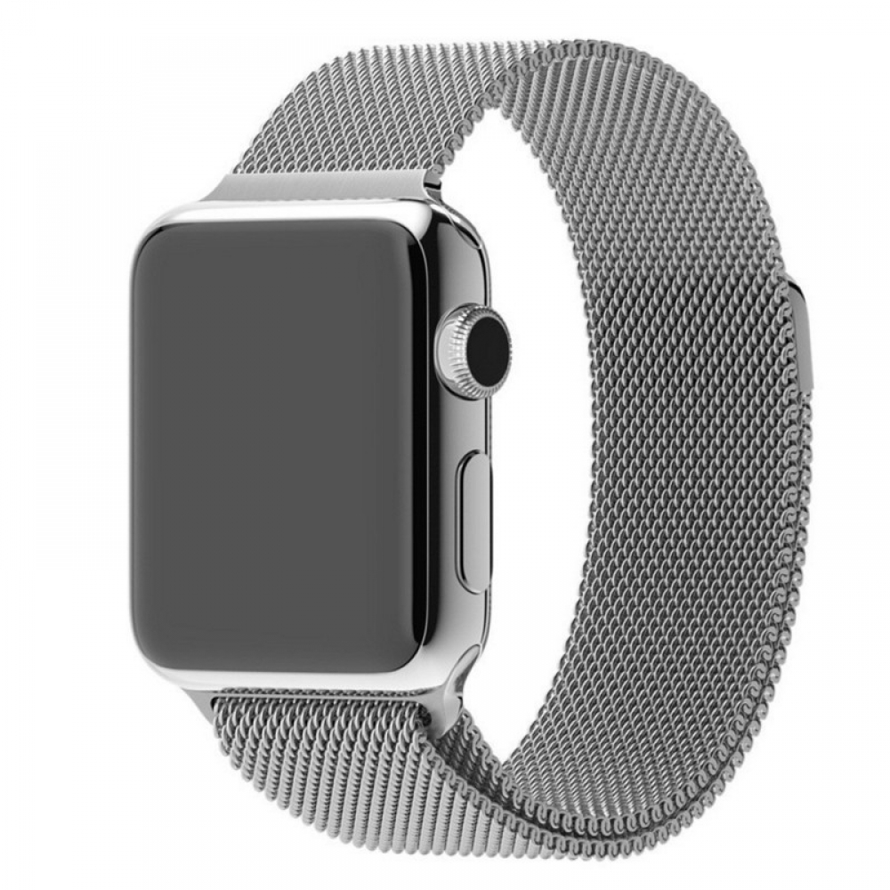 Apple Watch Series 4 40mm Leather Loop Band Strap (Black) protective stylish skin case by PDair