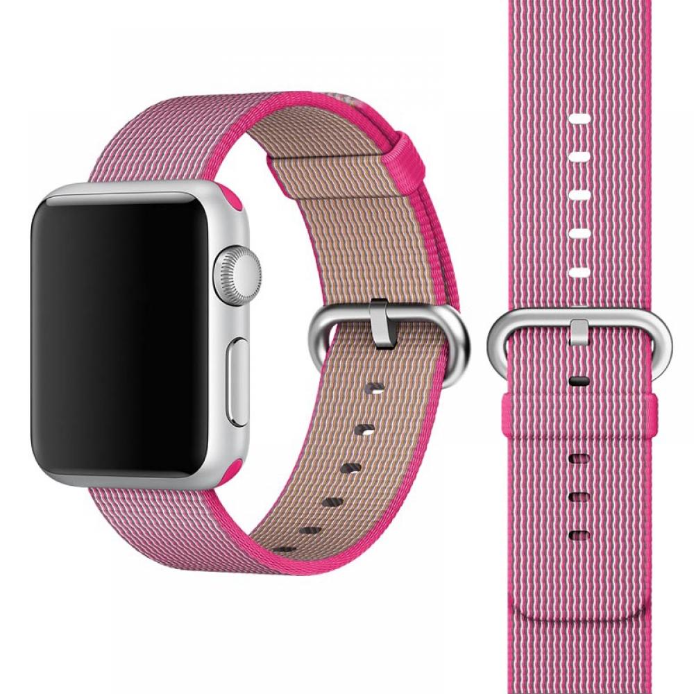 Apple Watch Series 3 38mm Woven Nylon Band Strap (Petal