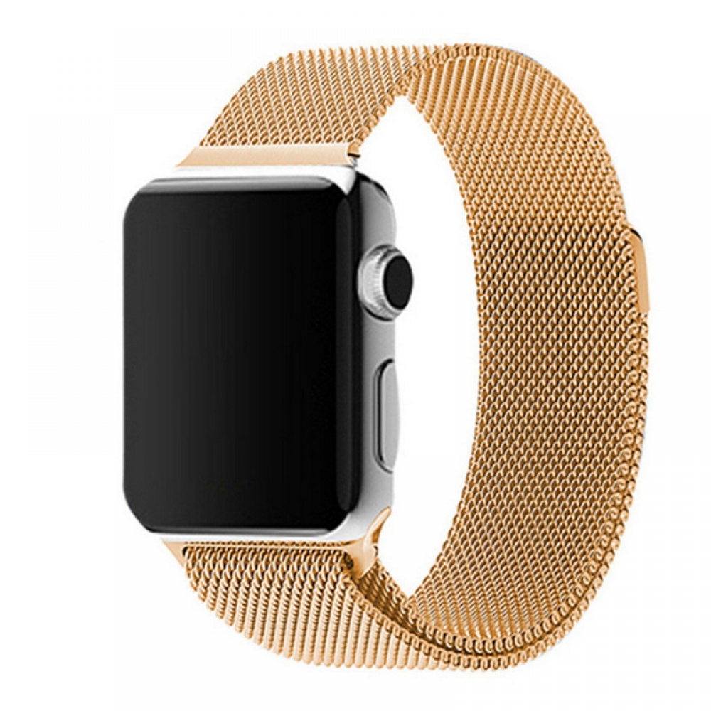 8a0334a4dfc Apple Watch Series 3 42mm Milanese Loop Band Strap (Gold)    PDair 10%