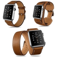 Apple Watch Series 4 44mm Premium Vintage Genuine Leather Band Strap is designed to wear fashionable look to your device. It can personalize your iWatch with this refined strap compared to Apple ones, but more attractive cost. It is made of original genui