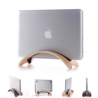 "Arched Shaped Wood Stand Holder for Apple MacBook Air Pro 11"" 13"""