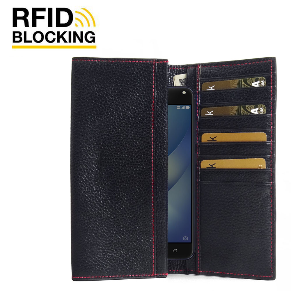 10% OFF + FREE SHIPPING, Buy Best PDair Handmade Protective Asus Zenfone 4 Max Pro Leather Continental Sleeve Wallet (Red Stitching).  You also can go to the customizer to create your own stylish leather case if looking for additional colors, patterns and