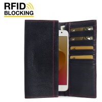 10% OFF + FREE SHIPPING, Buy Best PDair Handmade Protective Asus Zenfone 4 Selfie Leather Continental Sleeve Wallet (Red Stitching).  You also can go to the customizer to create your own stylish leather case if looking for additional colors, patterns and