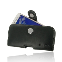 Leather Horizontal Pouch Case with Belt Clip for Asus Zenfone Live