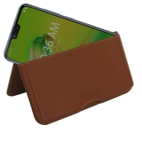 10% OFF + FREE SHIPPING, Buy the BEST PDair Handcrafted Premium Protective Carrying Asus Zenfone Max Plus (M2) Leather Wallet Pouch Case (Brown). Exquisitely designed engineered for Asus Zenfone Max Plus (M2).