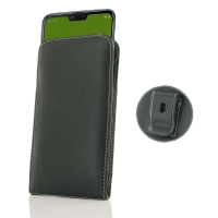 10% OFF + FREE SHIPPING, Buy the BEST PDair Handcrafted Premium Protective Carrying Asus Zenfone Max Plus (M2) Pouch Case with Belt Clip. Exquisitely designed engineered for Asus Zenfone Max Plus (M2).