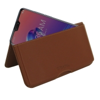 10% OFF + FREE SHIPPING, Buy the BEST PDair Handcrafted Premium Protective Carrying Asus Zenfone Max Pro (M2) Leather Wallet Pouch Case (Brown). Exquisitely designed engineered for Asus Zenfone Max Pro (M2).