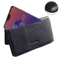 10% OFF + FREE SHIPPING, Buy the BEST PDair Handcrafted Premium Protective Carrying Asus Zenfone Max Pro (M2) Leather Wallet Pouch Case (Red Stitch). Exquisitely designed engineered for Asus Zenfone Max Pro (M2).