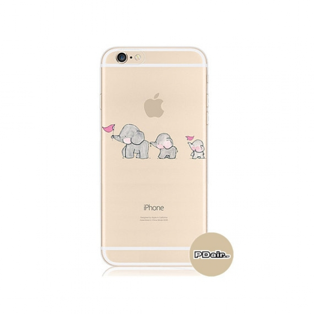10% OFF + FREE SHIPPING, Buy PDair iPhone Pattern Printed Soft Clear Case (Baby Elephant) which is available for iPhone 6 | iPhone 6s, iPhone 6 Plus | iPhone 6s Plus, iPhone 5 | iPhone 5s SE. You also can go to the customizer to create your own stylish le