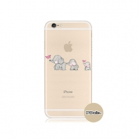 Baby Elephant iPhone 6s 6 Plus SE 5s 5 Pattern Printed Soft Case