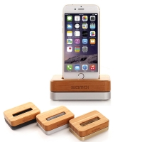 Bamboo Stand Holder for Apple iPhone 7 6s 6 SE 5s 5