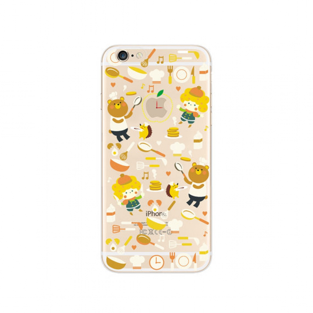 10% OFF + FREE SHIPPING, Buy PDair iPhone Soft Clear Case (Bear Cooking Cutie Pattern) which is available for iPhone 6 | iPhone 6s, iPhone 6 Plus | iPhone 6s Plus, iPhone 5 | iPhone 5s SE. You also can go to the customizer to create your own stylish leath