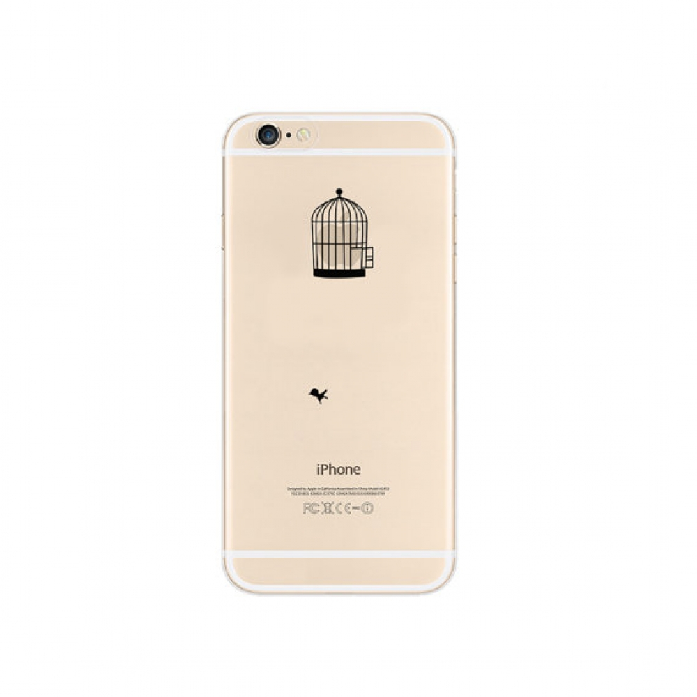 10% OFF + FREE SHIPPING, Buy PDair iPhone Pattern Printed Soft Clear Case (Bird Cage) which is available for iPhone 6 | iPhone 6s, iPhone 6 Plus | iPhone 6s Plus, iPhone 5 | iPhone 5s SE. You also can go to the customizer to create your own stylish leathe