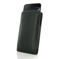 BlackBerry DTEK60 Leather Sleeve Pouch Case PDair Premium Hadmade Genuine Leather Protective Case Sleeve Wallet