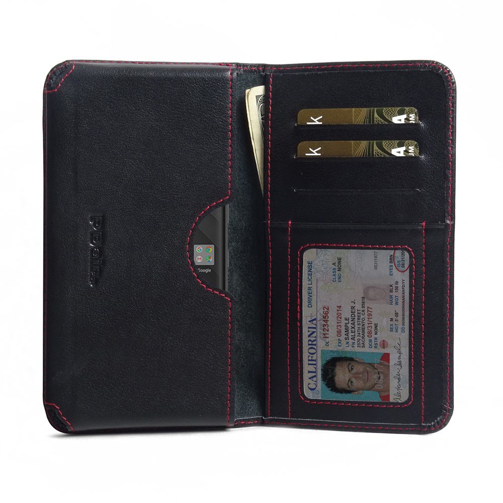 10% OFF + FREE SHIPPING, Buy the BEST PDair Handcrafted Premium Protective Carrying BlackBerry KEY2 Leather Wallet Sleeve Case (Red Stitch). Exquisitely designed engineered for BlackBerry KEY2.