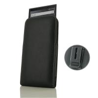 Leather Vertical Pouch Belt Clip Case for BlackBerry KEY2 | BlackBerry KEY2 LE