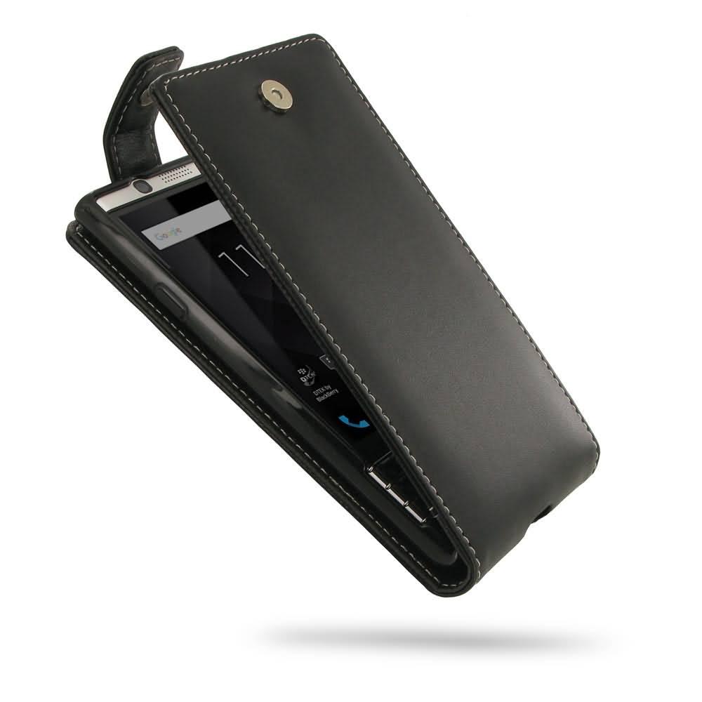 the best attitude a3a4b afca4 Leather Flip Top Wallet Case for BlackBerry KEYone | Mercury | DTEK70