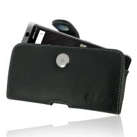 Leather Horizontal Pouch Case with Belt Clip for BlackBerry KEYone | Mercury | DTEK70