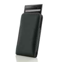 Leather Vertical Pouch Case for BlackBerry Motion