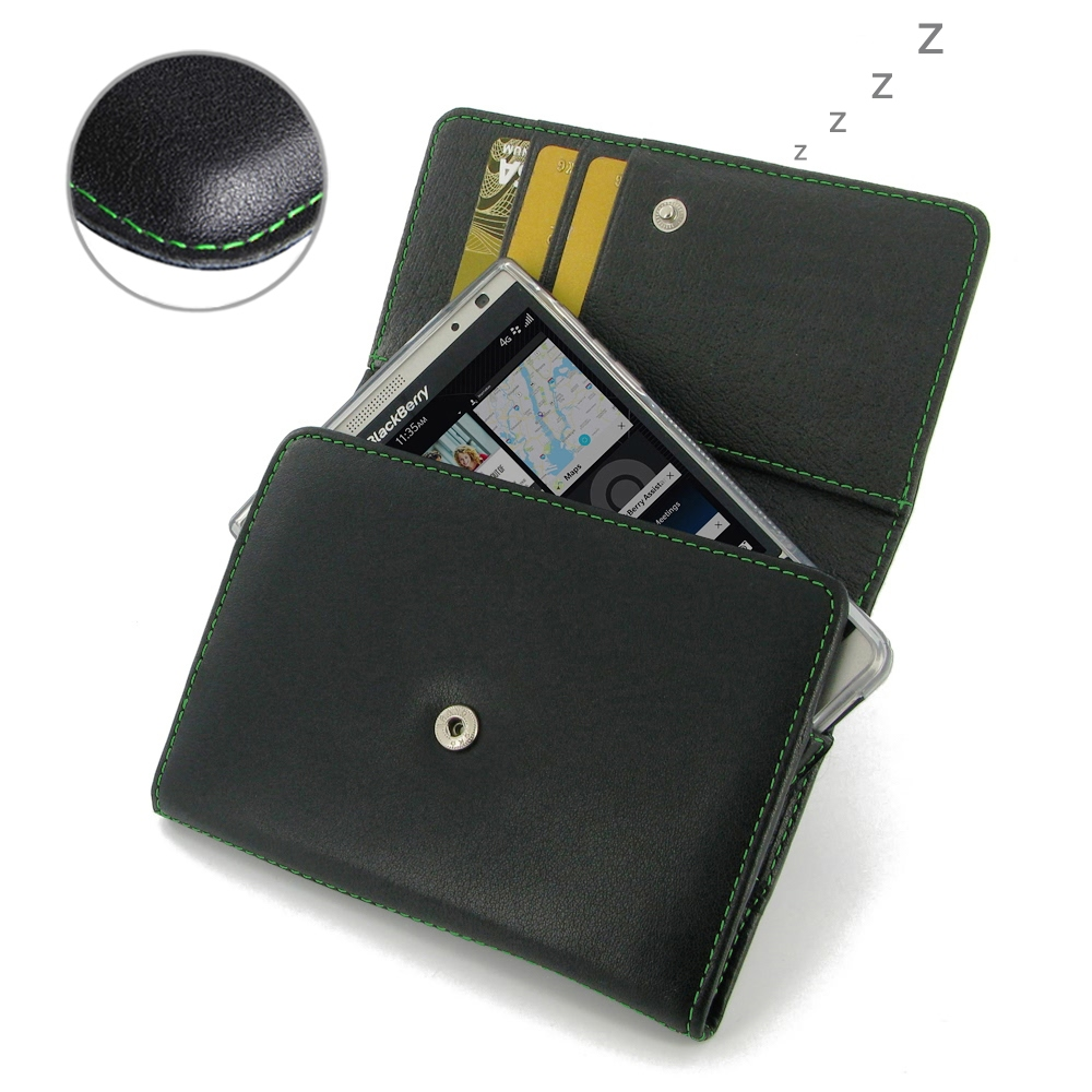 10% OFF + FREE SHIPPING, Buy Best PDair Handmade Protective BlackBerry Passport Silver Edition Genuine Leather Wallet Case (Green Stitch) online. You also can go to the customizer to create your own stylish leather case if looking for additional colors, p