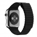 Apple Watch Series 4 44mm Leather Loop Band Strap (Black) custom degsined carrying case by PDair