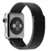 Apple Watch Series 4 44mm Milanese Loop Band Strap (Black) custom degsined carrying case by PDair