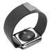 Apple Watch Series 4 44mm Milanese Loop Band Strap (Black) offers worldwide free shipping by PDair