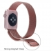 Apple Watch 38mm Sport Band Strap (Rose Gold Milanese) handmade leather case by PDair